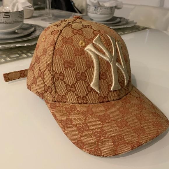 073043f8 Gucci NY Yankees Baseball Cap